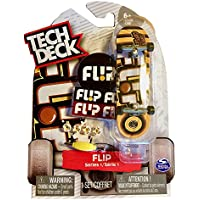 Tech Deck FLIP Series 1 'Curren Caples' 96 mm skateboard #20078496 [並行輸入品]
