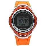 [ダッシュ]Dash 腕時計 NEO-TEC ソーラーウォッチ スポーツ デジタル 10気圧防水 オレンジ×オレンジ AD06717-SOL-10 メンズ