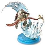 フィギュア クラッシュ&スクワート (ファインディング・ニモ)ウォルト・ディズニー・クラシック・コレクション 【WDCC】Crush and Squirt: You So Totally Rock,Squirt!