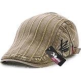 (ムコ) MUCO キャスケット ハンチング帽 欧米刺繍 オシャレ カジュアル レディース メンズ 調節可能 アウトドア UVカッド (6カラー) green
