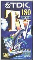 TDKテレビクラブ180空白のVHSテープ