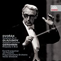 Dvorak: Symphony 3 / Gershwin: Rhapsodi in Blue / Glazunov: Saxophone Concerto (2009-03-31)