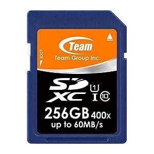 Team SDXCカード Class 10 ECOパッケージ 10年保証 (UHS-1 256GB)