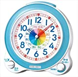 SEIKO CLOCK セイコークロック 知育目覚まし時計(薄青) KR887L