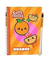 Scentco Cutie Fruities Sketch & Sniff スケッチパッド オレンジ 香り付きカバー