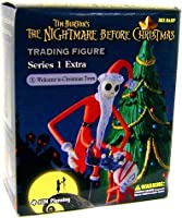 Tim Burton's The Nightmare Before Christmas Series 1 Extra Trading Figure Welcome to Christmas Town by Jun Planning [並行輸入品]