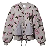 adidas Adidas Originals Obyo Jeremy Scott JS Floral Bomber s07152グレーローズメンズジャケット