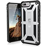 URBAN ARMOR GEAR 5.5インチ対応(iPhone8Plus/7Plus/6sPlus) Monarch Case プラチナム UAG-IPH7PLS-P-SLV【日本正規代理店品】