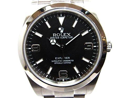 [ロレックス] ROLEX エクスプローラーⅠ ブラック ステンレススチール(SS) 214270/ランダム [中古]