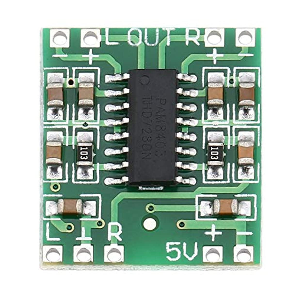 あたりカメラ推進Blackfell 2チャンネル3Wデジタル電源PAM8403 D級オーディオモジュールアンプボードUSB DC 5VミニD級デジタルアンプボードLCD
