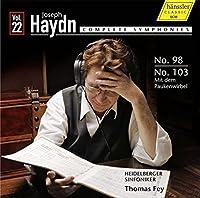 Haydn, Complete Symphonies, Vol. 22 - Symphonies Nos. 98 & 103 by Heidelberger Sinfoniker