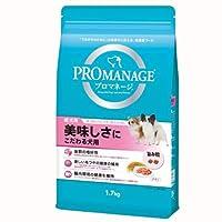 箱売り プロマネージ 成犬用 美味しさにこだわる犬用 1.7kg 1箱6袋入り