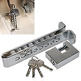 8ホールオートカー・トラック盗難防止装置 盗難 防止用 ブレーキ ペダル ロック 頑丈な 鍵 でペダルをロックして動かせない