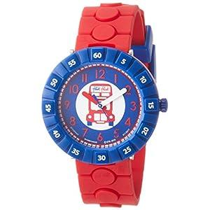 [フリック フラック]FLIK FLAK 腕時計 CHEERS CHARLES (チアーズ・チャールズ) Power Time 7+キッズ 男女兼用 FCSP043 ア・トリップ・トゥ・ロンドン 【正規輸入品】 FCSP043 ボーイズ 【正規輸入品】