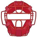 ZETT(ゼット) ソフトボール用 キャッチャー マスク BLM5152A レッド(6400)