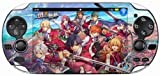 「英雄伝説 閃の軌跡」 スクリーン (タッチスクリーン) 保護シート for PS Vita デザイン1