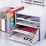 Deluxe オープン ファイル キャビネット Office キャビネット 収納 Cabinet Organizer キャビネット 引き出し My Room 書類 収納 整理 13105 Deluxe Open File Cabinet