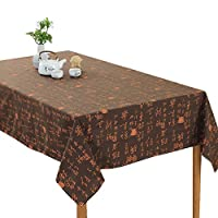 (キュミオ) QeMIO テーブル クロス ダイニング インテリア プリント ホームデコレーション 飾り布 キッチン用品 -1707A06