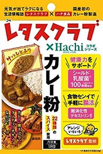 ハチ食品 レタスクラブ×Hachiコラボシリーズカレー粉(袋) 18g ×5袋