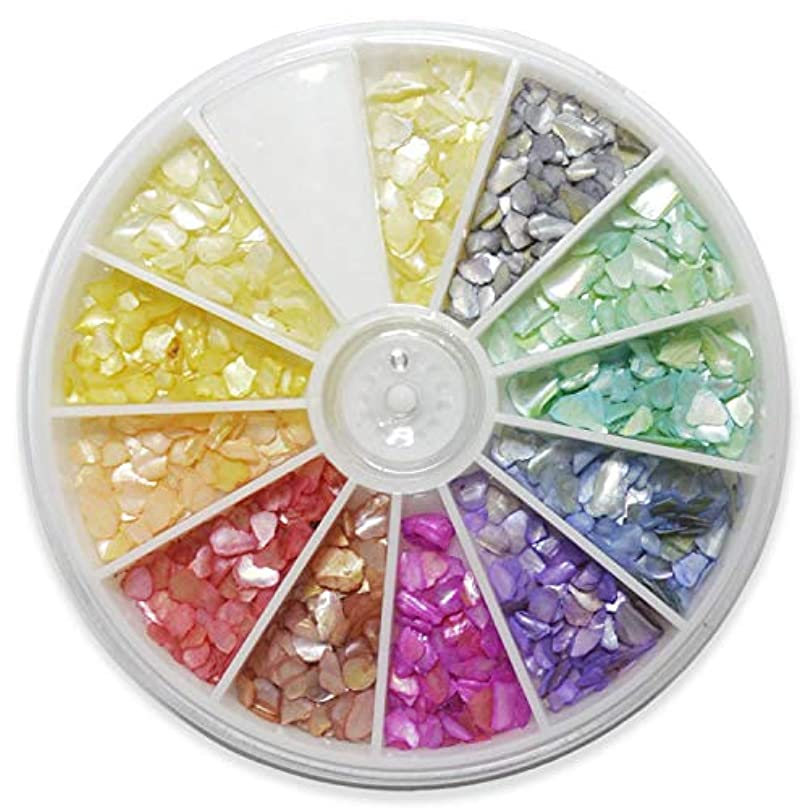 油つかいますマザーランドシェルストーン 11色セット 回転スライドケース入り /11color+アイボリーのみ1色分プラス