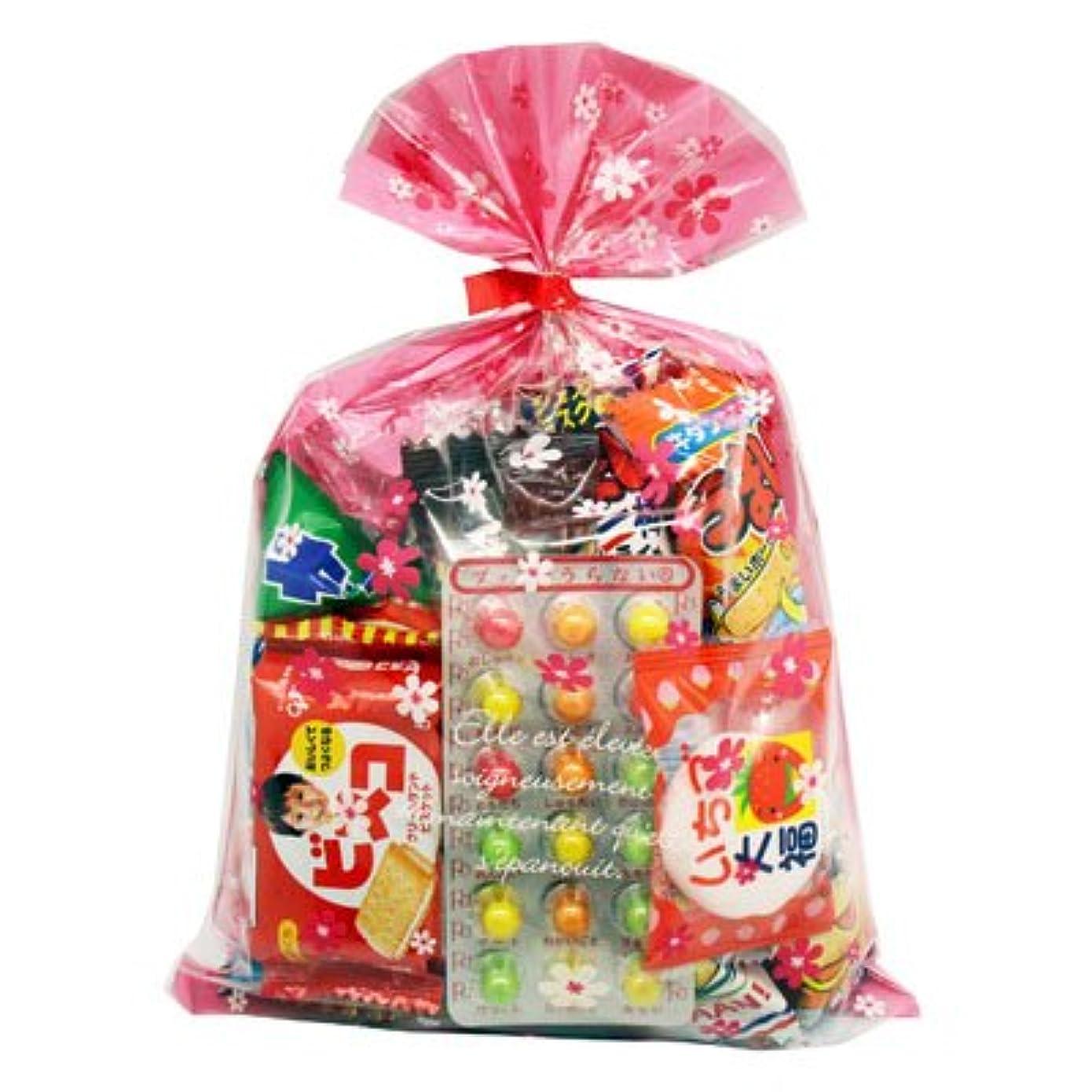 わずかにシンボルする必要がある花柄袋 295円 お菓子 詰め合わせ (Bセット) 駄菓子 袋詰め おかしのマーチ