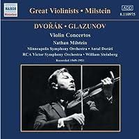 ドヴォルザーク/グラズノフ:ヴァイオリン協奏曲集(ミルシテイン)(1949-1951)