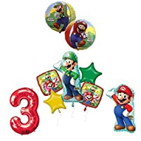 the ultimate super mario brothers and luigi 3rd birthday party