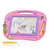 Yibaision おえかきボード 知育おもちゃ ラーニングトイ 幼児 プレゼント マグネットボード(ピンク)