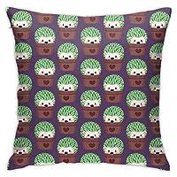 枕カバー ポリエステル100% 高密度 防ダニ 抗菌 防臭 45x45cmのサイズの枕用 洗える 北欧 速乾 アイロンいらず 軽量