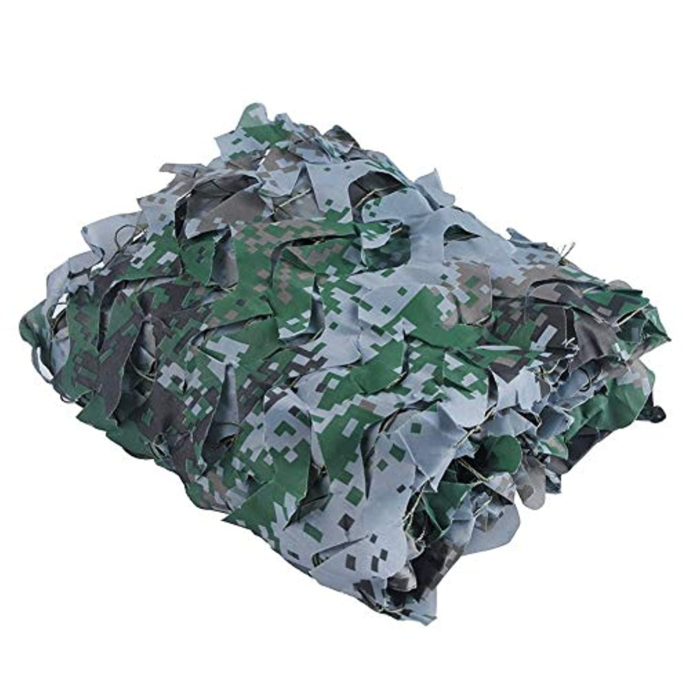 猛烈な余暇仮定、想定。推測迷彩ネットウッドランド砂漠迷彩ネットキャンプ軍事狩猟射撃日焼け止めネット迷彩パーティー装飾テーマレストランの装飾 (Color : Digital camouflage, Size : 6x10m)