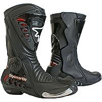 Stylmartin(スティルマーチン): RACING シリーズ ブーツ SONIC RS ブラック   サイズ: 47 (国内 30cm)  レーシング sty-sonic-rs-bk-47