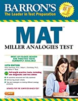 Barron's MAT: Miller Analogies Test
