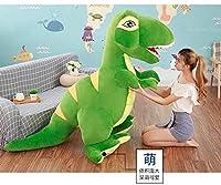 POOM60 センチメートル/90 センチメートル漫画の恐竜ぬいぐるみ趣味巨大なティラノサウルスレックスぬいぐるみ人形ぬいぐるみのおもちゃ子供男の子クラシックのおもちゃぬいぐるみ 犬