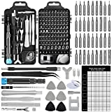 Upgrade Apsung 137 in 1 Precision Screwdriver Set with Slotted, Phillips, Torx& More Bits, Non-Slip Magnetic Electronics Tool Kit for Repair iPhone, Android, Computer, Laptop, Watch, Glasses, PC etc