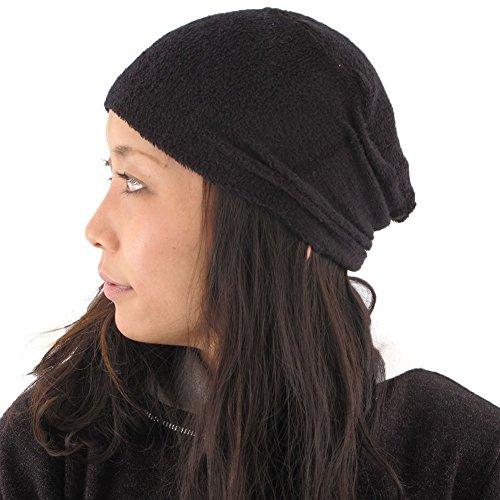 (カジュアルボックス)CasualBox 抗がん剤 医療用帽子 パイル ペンテス デザイン ワッチ フリーサイズ 日本...