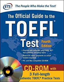 Official Guide to the TOEFL Test With CD-ROM, 4th Edition (Official Guide to the Toefl Ibt) (0071766588) | Amazon price tracker / tracking, Amazon price history charts, Amazon price watches, Amazon price drop alerts
