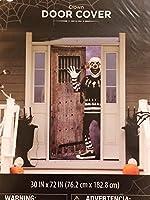 Halloween Scary Clown Door Cover - 30 x 72 [並行輸入品]
