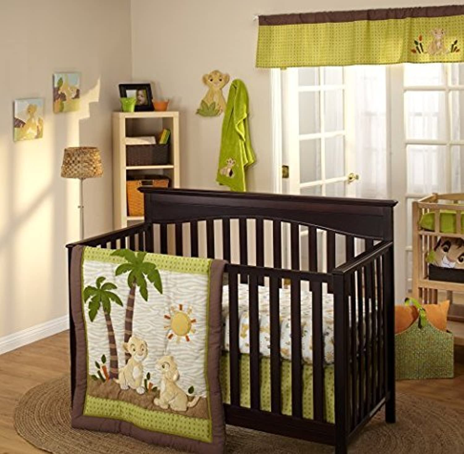 5-Pieces Disney Lion King Wild About You Crib Bedding and Bumper Set [並行輸入品]