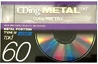 TDK メタルテープ CDing METAL 60分 CDM-60A