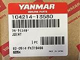 Yanmar 104214–13580パーツCoupler排気ジョイント純正OEM