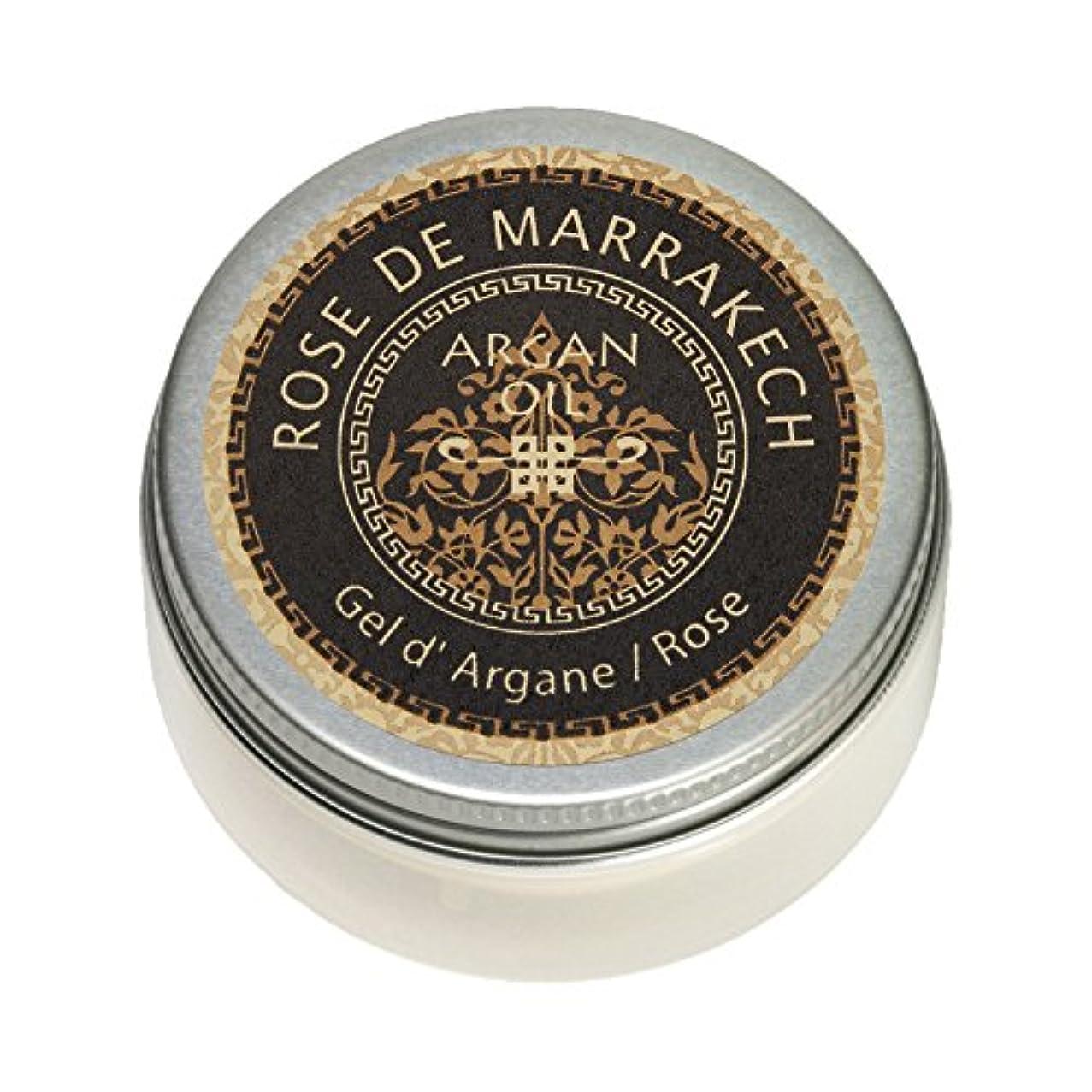 代わりにを立てるマント消毒するローズ ド マラケシュ ジェル ド アルガン-ローズ 40g