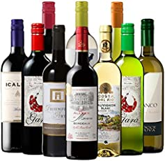 My Wine CLUB ソムリエナイフ&ストッパー付世界激安デイリー選りすぐり赤白10本 750ml×10本