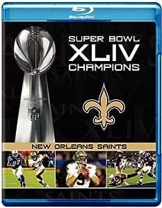 NFL Super Bowl Xliv Champions: New Orleans Saints [Blu-ray] [Import]