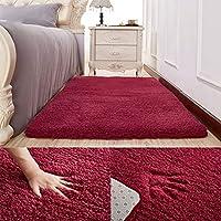 LLKOZZ 長方形の滑り止めのカーペットの家のアニメフォトパッドのリビングルームの寝室のカーペット - オプションのカーペット じゅうたん (Color : G, Size : 100cm×160cm)