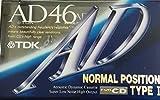 TDK カセットテープ ADシリーズ 冴えわたる高音 デジタル高域 (46分 AD-46A)