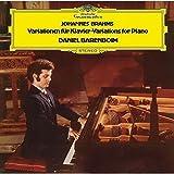 ブラームス:主題と変奏曲、シューマンの主題による変奏曲、ヘンデルの主題による変奏曲とフーガ