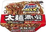 エースコック スーパーカップMAX 大盛り 太麺濃い旨スパイシー焼そば 176g ×12個