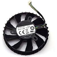 Funeshop N760 R9 270X GAMING OC ITX 2G用 グラフィックカードファン 冷却ファン FY09015H12LPA 12V 0.45A 85mm 4 Pin