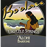 【KO'OLAU STRINGS】 ALOHI BARITONE バリトン用 ウクレレ弦 セット(高密度モノフィラメント繊維 3弦4弦のみ巻弦)