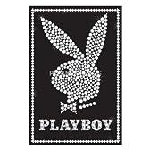 サブカル『PLAYBOY/プレイボーイ(ラインストーンバニー)《PPS028》』ポスター